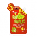 Фото 7 DAYS HAPPY HANDS - Крем-парфюм для рук HAND IN HAND с Персиком, 25 г
