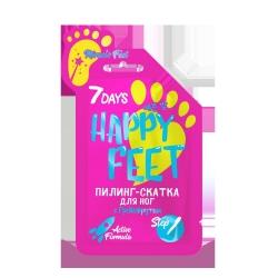 Фото 7 DAYS HAPPY FEET - Пилинг-скатка для ног MIRACLE FEET c Грейпфрутом, 25 г