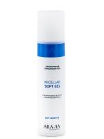 Aravia Professional -  Мицеллярный очищающий гель с гиалуроновой кислотой и альфа-бисабололом Micellar Soft Gel, 250 мл