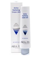 Купить Aravia Professional - Крем для лица активное увлажнение Active Hydrating Cream 24H, 100 мл