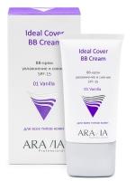 Aravia Professional - BB-крем увлажняющий SPF 15 Ideal Cover BB-Cream Vanilla 01, 50 мл