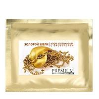 Premium Professional Intensive - Маска коллагеновая Золотой шелк, с биозолотом 1 шт.