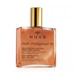 Фото Nuxe - Мерцающее сухое масло для лица, тела и волос Huile Prodigieuse, 50 мл