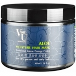 Richenna Von-U Aloe Moisture Hair Mask - Маска для волос увлажняющая с алое вера, 480 мл