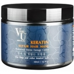 Фото Richenna Von-U Keratin Repair Hair Mask - Маска-реконструктор с кератином, 480 мл
