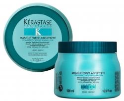 Фото Kerastase Resistance Masque Force Architecte - Восстанавливающая маска для сильно поврежденных волос, 500 мл