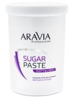 "Aravia Professional -  Сахарная паста для шугаринга ""Мягкая и лёгкая"", 1500 гр"