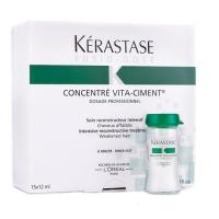 Купить Kerastase Fusio Dose Concentre Vita-Ciment - Укрепляющий концентрат для ослабленных волос 10х12 мл