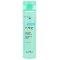 Kaaral Purify Energy Shampoo - Интенсивный энергетический шампунь с ментолом, 250 мл