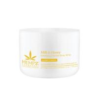Купить Hempz Milk Honey Herbal Sugar Body Scrub - Скраб для тела с молоком и медом, 176 г