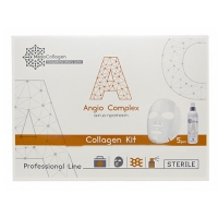 MesoCollagen Angio Complex - Набор Ангио протект, аппликаторы для лица и спрей, 1 шт
