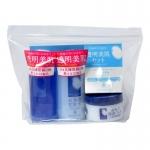 Фото Momotani - Дорожный набор средств с экстрактом риса, очищающий и увлажняющий лосьоны и увлажняющий крем, 2*58 мл*, 30 г