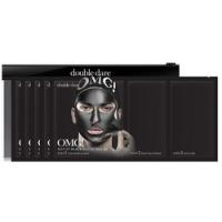 Купить Double Dare OMG! Man In Black Peel Off Mask Kit - Трехкомпонентный набор мужских масок Смягчением и восстановление, 5 шт