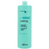 Kaaral Purify Energy Shampoo - Интенсивный энергетический шампунь с ментолом, 1000 мл