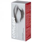 Concept Eyelashes And Eyebrows Color Cream - Крем-краска для бровей и ресниц, Черный, 30+20 мл