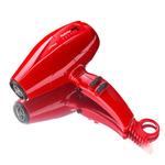 Фото BaByliss Pro Volare V2 BABV2RE - Фен красный компакт, ионизация, 2 насадки, 2200 Вт