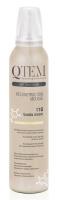 Qtem Soft Touch Color - Многофункциональный мусс-реконструктор для волос Vanilla Dream, Ванильная мечта, 250 мл