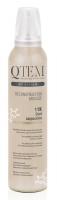 Qtem Soft Touch Color - Многофункциональный мусс-реконструктор для волос Сool Cappuccino, Холодный капучино, 250 мл