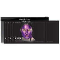Купить Double Dare OMG! Platinum Purple Facial Mask Kit - Трехкомпонентный комплекс масок Глубокое увлажнение и релакс, 5 штук