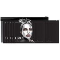 Купить Double Dare OMG! Platinum Silver Facial Mask Kit - Трёхкомпонентный комплекс масок Активный лифтинг и восстановление, 5 шт