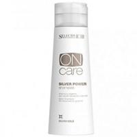 Selective On Care Tech Silver Power Shampoo - Серебряный шампунь для обесцвеченных или седых волос, 250 мл