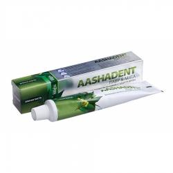 Фото Aasha Herbals Aashadent - Зубная паста, Лавр-Мята, 100 мл