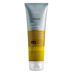 Фото Lakme Teknia Deep care treatment - интенсивное восстанавливающее средство, для сухих или поврежденных волос 250 мл