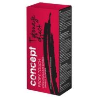 Concept Brows Color Cream Tatouage Effect - Крем-краска для бровей с эффектом Татуажа, Черный, 30+20 мл