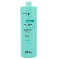 Kaaral Purify Colore Shampoo - Шампунь для окрашенных волос на основе фруктовых кислот ежевики, 1000 мл
