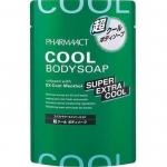 Фото Kumano cosmetics Extra Cool Body Soap - Гель для душа, сменный блок, 400 мл
