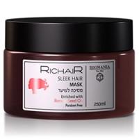Egomania Richair Sleek Hair Mask - Маска для гладкости и блеска волос, 250 мл