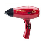 Parlux 3500 SuperCompact Ceramic+Ionic - Фен, красный, 2000 Вт