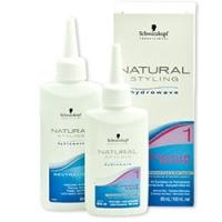 Schwarzkopf Natural Styling Glamour - Комплект для химической завивки 1, 180 мл