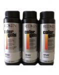 Фото Redken - Краска-лак для волос Колор Гель, 3RB красное дерево, 3*60 мл