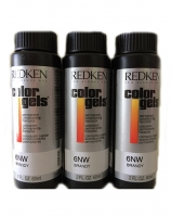 Redken - Краска-лак для волос Колор Гель, 7NW чай с молоком, 3*60 мл