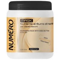 Brelil Numero Shea Butter - Маска с маслом карите для сухих волос, 1000 мл