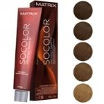 Matrix Socolor.beauty High Impact Brunette - Крем-краска перманентная, тон GG глубокий золотистый, 90 мл