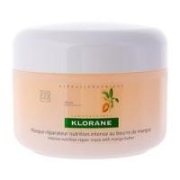 Купить Klorane - Маска с маслом манго для сухих, поврежденных волос 150 мл