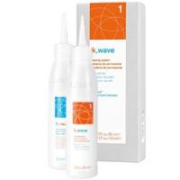 Lakme K.Wave 1 - Комплект для химической завивки двухкомпонентный, Натуральные волосы
