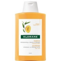 Купить Klorane Dry Hair Shampoo - Шампунь для сухих и поврежденных волос с маслом манго, 400 мл