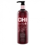 Фото CHI Rose Hip Oil Shampoo - Шампунь с маслом лепестков роз, 340 мл