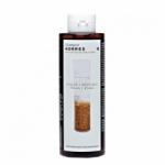 Фото Korres Shampoo Rice Proteins & Linden - Шампунь для тонких ломких волос с протеинами риса и липой, 250 мл