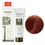 Фото Gain Cosmetics Haken Premium Pearll Pure Gel Color-Macadamia Nature Brown - Маникюр для волос, тон натурально-коричневый, 220 г