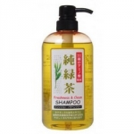 Junlove Relax Herb Shampoo - Шампунь растительный для волос с расслабляющим эффектом с зеленым чаем, 600 мл.