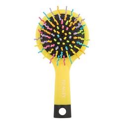 Beauty Essential - Расческа маленькая, Радуга, желтая