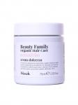 Фото Nook Beauty Family Organic Hair Care Crema Dolcezza Avena & Riso - Успокаивающий крем - кондиционер для ломких и тонких волос, 75 мл