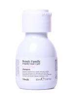 Купить Nook Beauty Family Organic Hair Care Shampoo Avena & Riso - Успокаивающий шампунь для тонких и ломких волос, 60 мл
