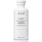 Фото Keune Care Line Absolute Volume Shampoo - Шампунь, Абсолютный объем, 300 мл