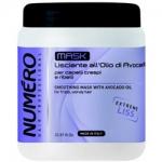 Фото Brelil Numero Liss - Маска разглаживающая с маслом авокадо для пушистых и непослушных волос, 1000 мл