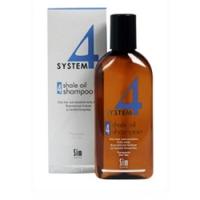 Купить Sim Sensitive System 4 Therapeutic Climbazole Shampoo 4 - Терапевтический шампунь № 4 для раздраженной кожи головы, 500 мл